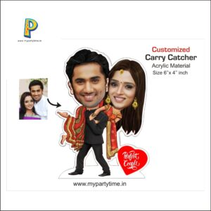 CARICATURE PHOTO STAND IN