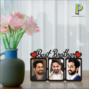 BEST BROTHER ACRIYLIC PHOTO COLLAGE