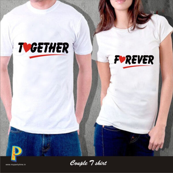 couple tees print in india