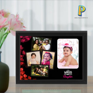 Daughter's Day Photo Collage Frame